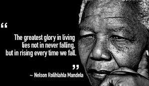 Fall & Rise. Mandela