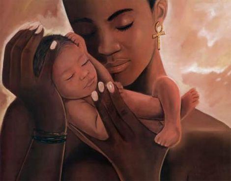 mere-enfant-bebe-famille-amour-afrique