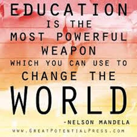 education-child-Nelson Mandela
