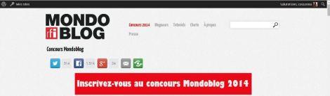 Mondoblog2014 winner