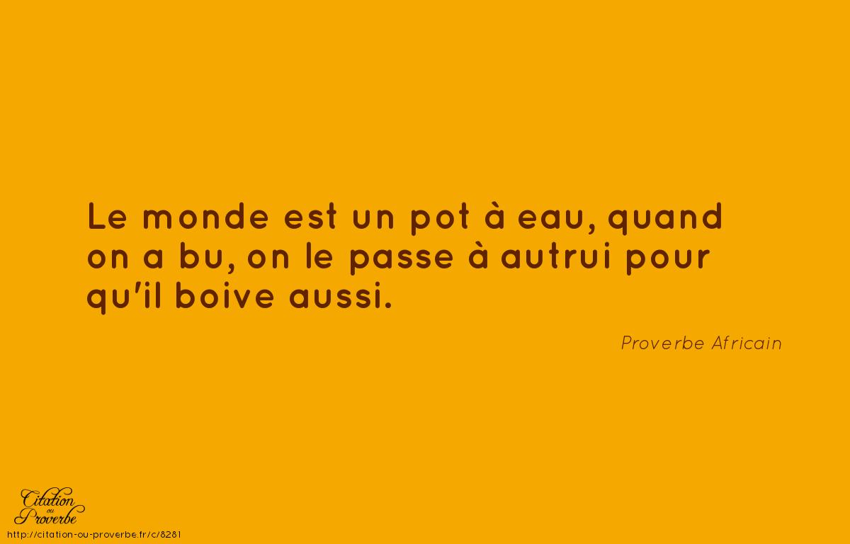 Bien connu Une histoire de legs- Proverbe Africain | La Bibliothèque Qui Ne  HO98